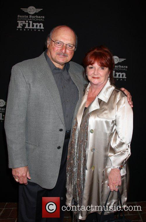 Dennis Franz with his wife Joanie 25th Santa...
