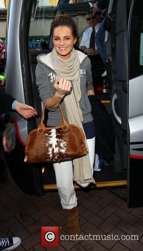 Kara Tointon 'Strictly Come Dancing' stars arrive at...