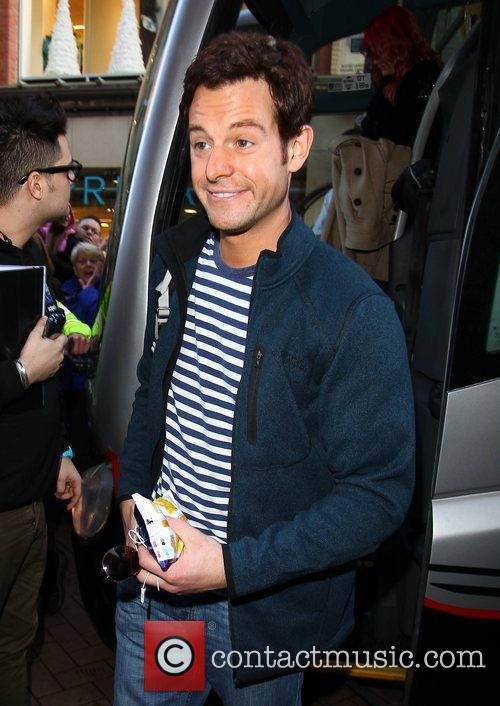 Matt Baker 'Strictly Come Dancing' stars arrive at...