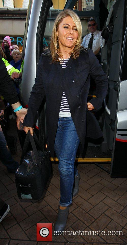Patsy Kensit 'Strictly Come Dancing' stars arrive at...