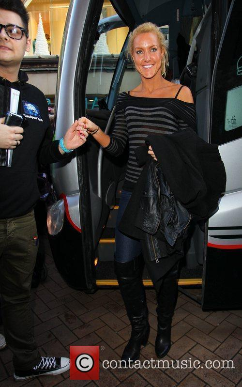 Natalie Lowe 'Strictly Come Dancing' stars arrive at...