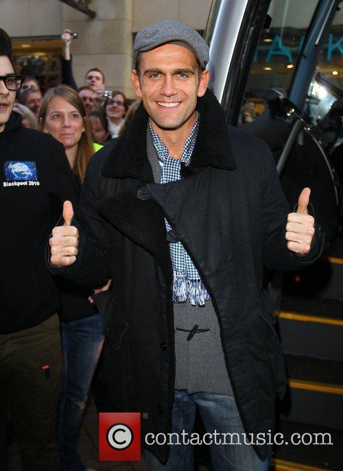 Scott Maslen 'Strictly Come Dancing' stars arrive at...