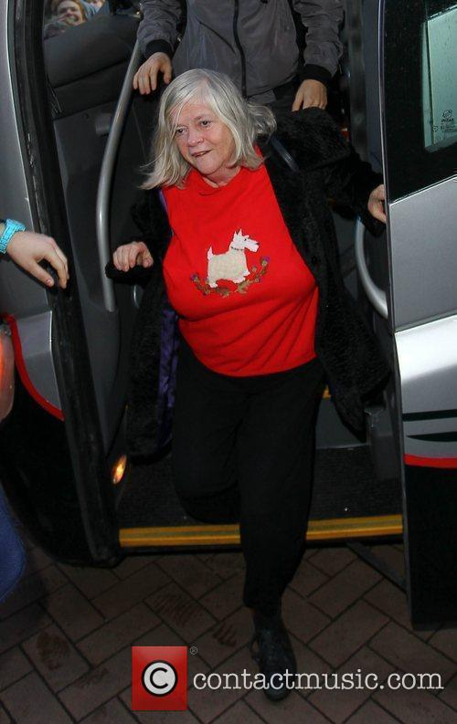 Ann Widdecombe 'Strictly Come Dancing' stars arrive at...