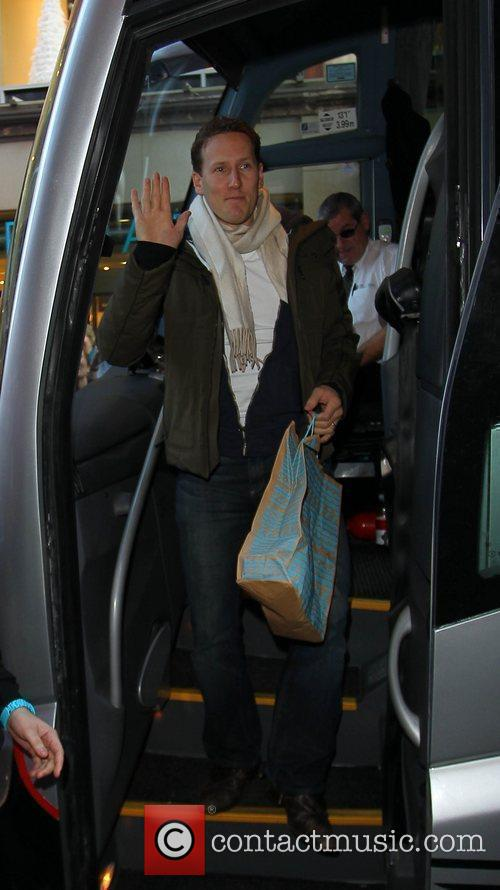 Brendan Cole 'Strictly Come Dancing' stars arrive at...