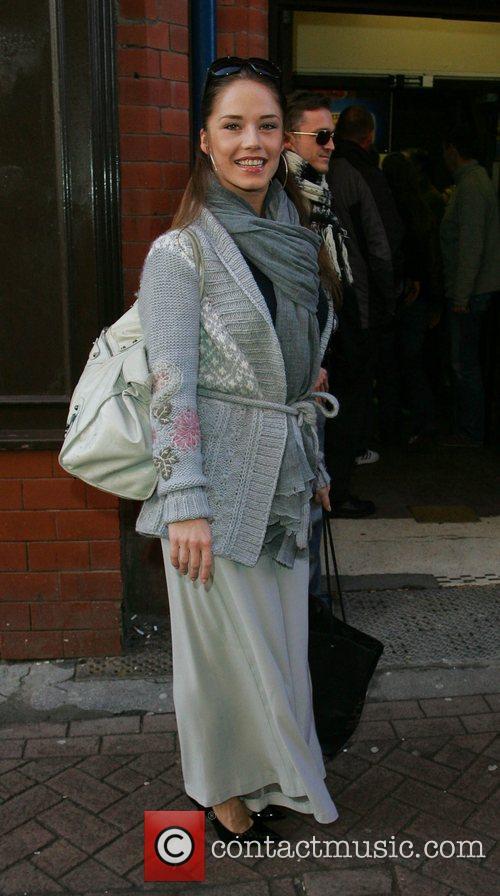 Katya Virshilas 'Strictly Come Dancing' stars arrive at...