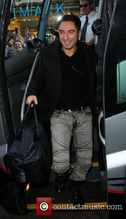 Vincent Simone 'Strictly Come Dancing' stars arrive at...