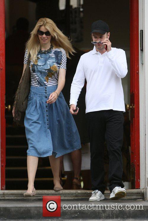 Claudia Schiffer and Matthew Vaughn 12