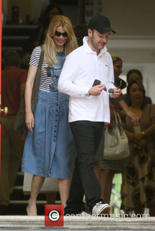 Claudia Schiffer and Matthew Vaughn 1
