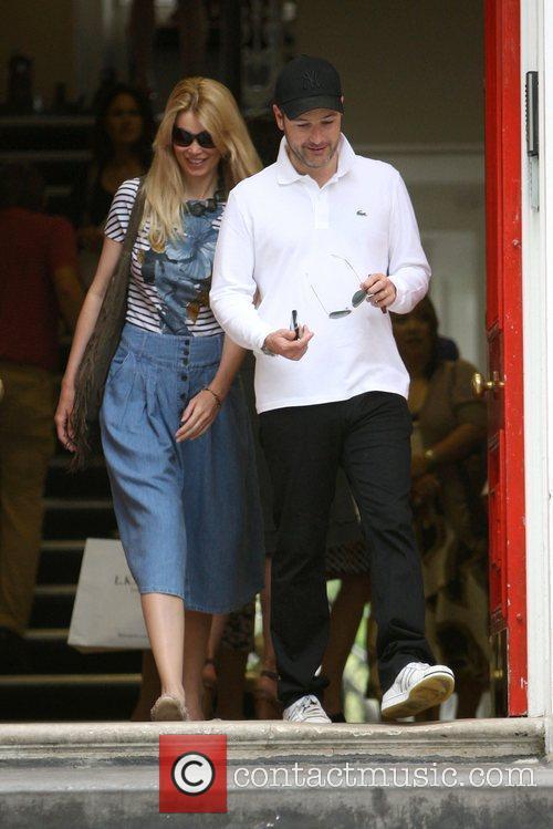 Claudia Schiffer and Matthew Vaughn 11