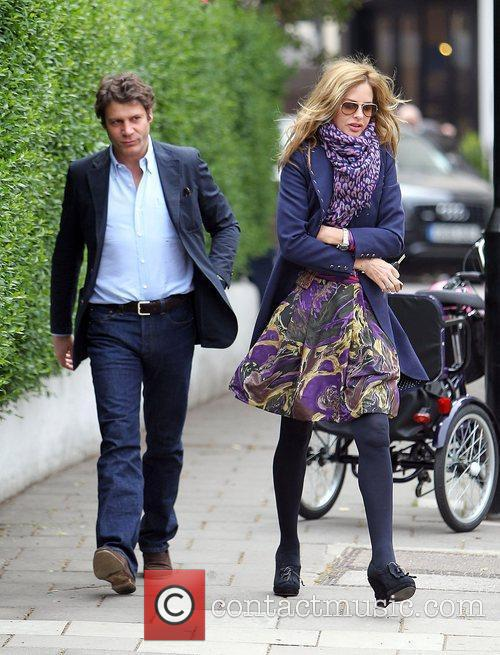 Trinny Woodall and Her Boyfriend Stefano Bonfiglio