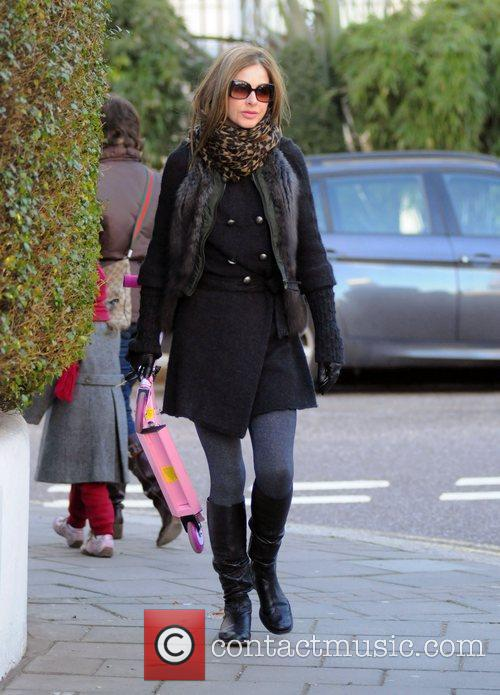 Trinny Woodall makes her way home after taking...