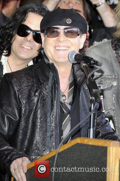 Klaus Meine  The Scorpions are inducted into...