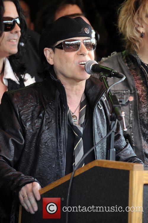 The Scorpions are inducted into Hollywood's 'Rock Walk...