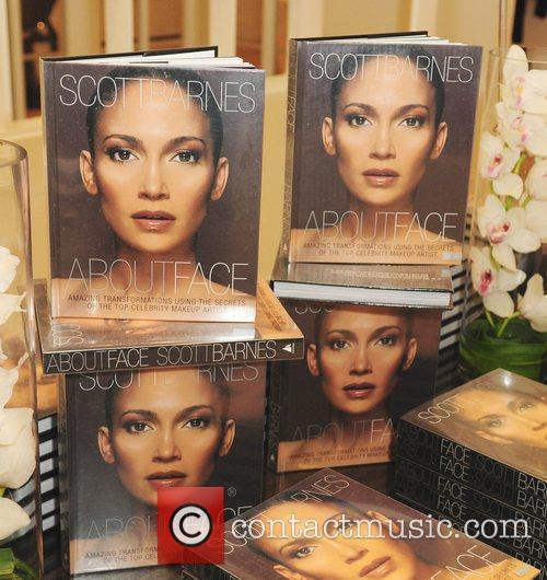 Make-up artist Scott Barnes book launch 'About Face'...