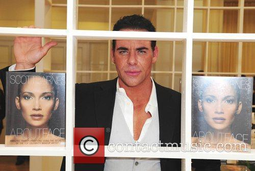 Make-up artist Scott Barnes book launch 'About Face' at Silvia