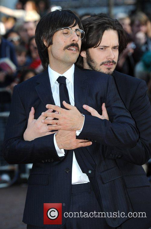 Jason Schwartzman and Edgar Wright 2