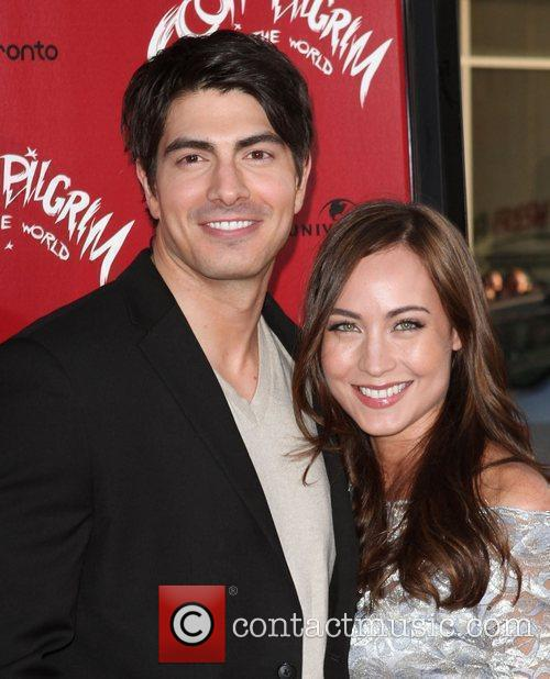 Brandon Routh and Courtney Ford 5