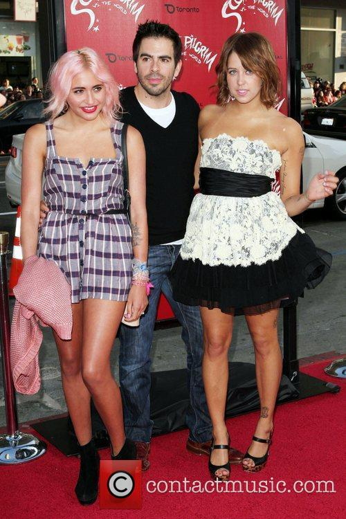 Eli Roth and Peaches Geldof 1