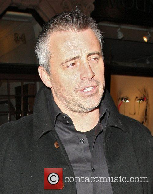 Matt LeBlanc arriving at Scotts restaurant