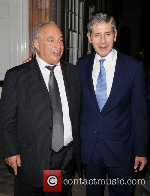 Sir Stuart Rose and Stuart Rose