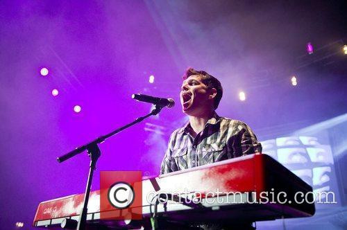 Scouting For Girls performing live at the HMV...