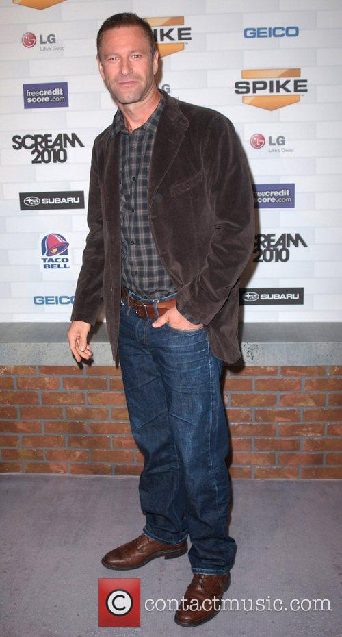 Aaron Eckhart Spike TV's 'Scream 2010 Awards' at...