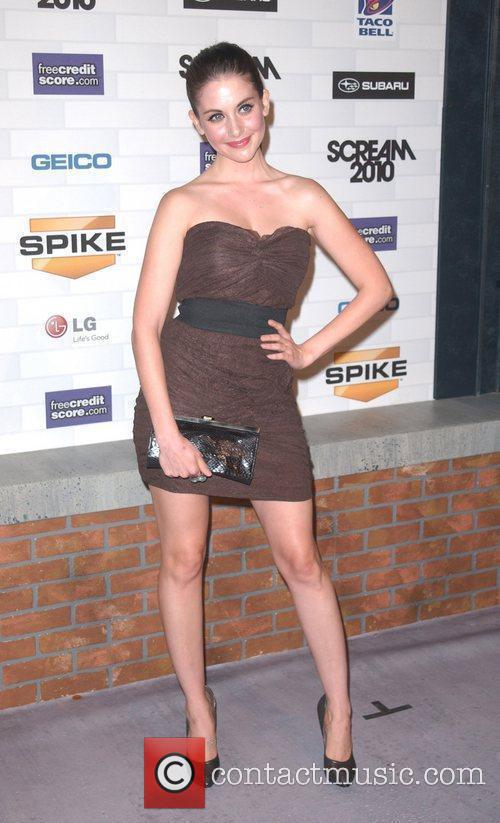 Alison Brie Spike TV's 'Scream 2010 Awards' at...