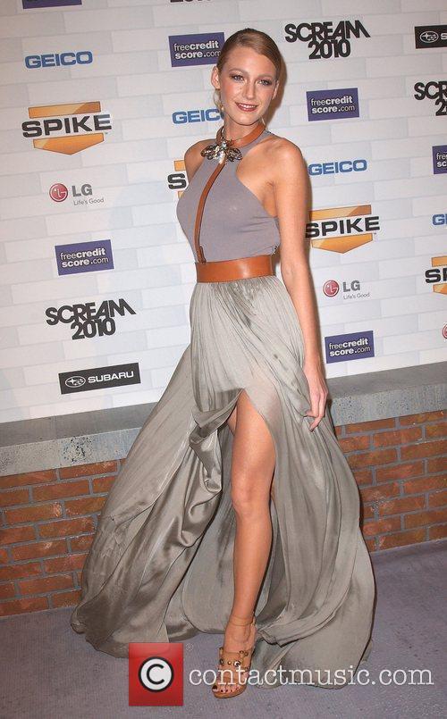 Blake Lively Spike TV's 'Scream 2010 Awards' at...