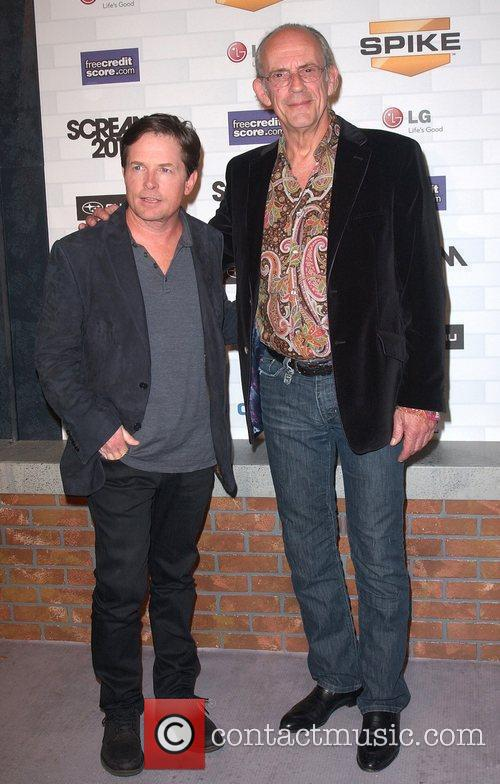 Michael J. Fox and Christopher Lloyd Spike TV's...