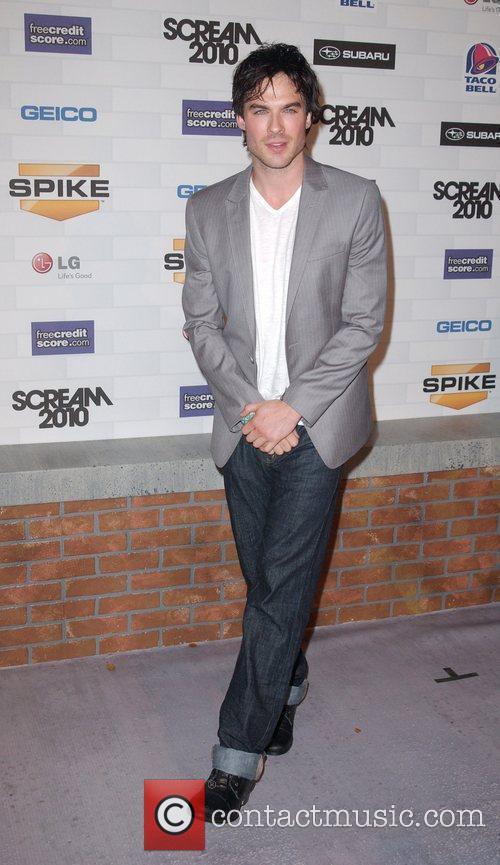 Ian Somerhalder Spike TV's 'Scream 2010 Awards' at...
