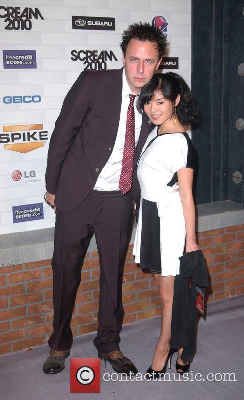 James Gunn and Mia Matsumiya Spike TV's 'Scream...