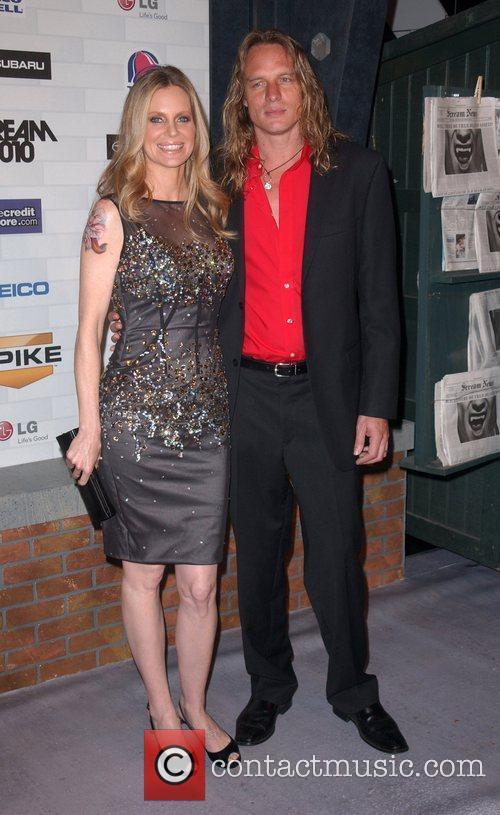 Kristin Bauer and Guest Spike TV's 'Scream 2010...