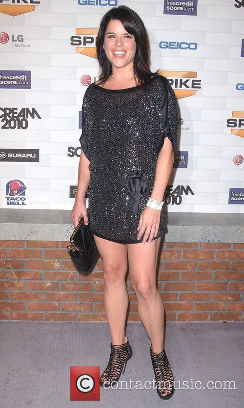 Neve Campbell Spike TV's 'Scream 2010 Awards' at...