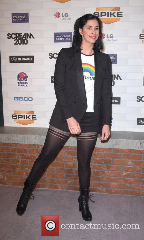 Sarah Silverman Spike TV's 'Scream 2010 Awards' at...