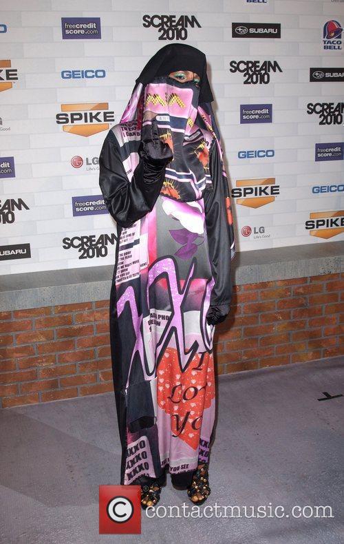 Singer M.I.A. Spike TV's 'Scream 2010 Awards' at...