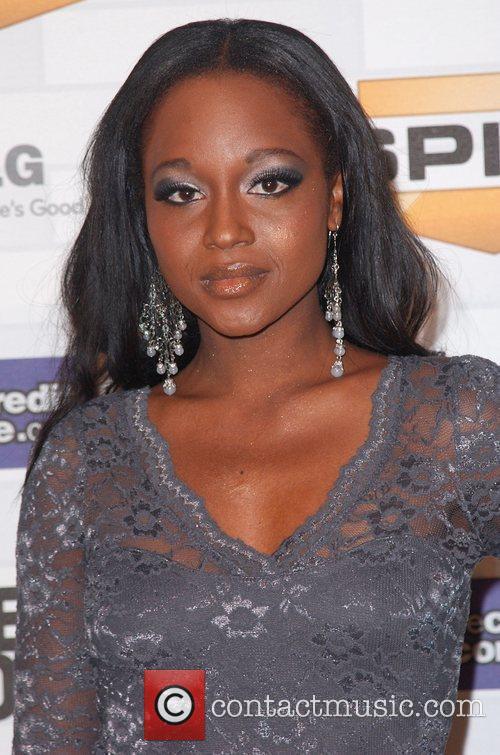 Tanedra Howard Spike TV's 'Scream 2010 Awards' at...