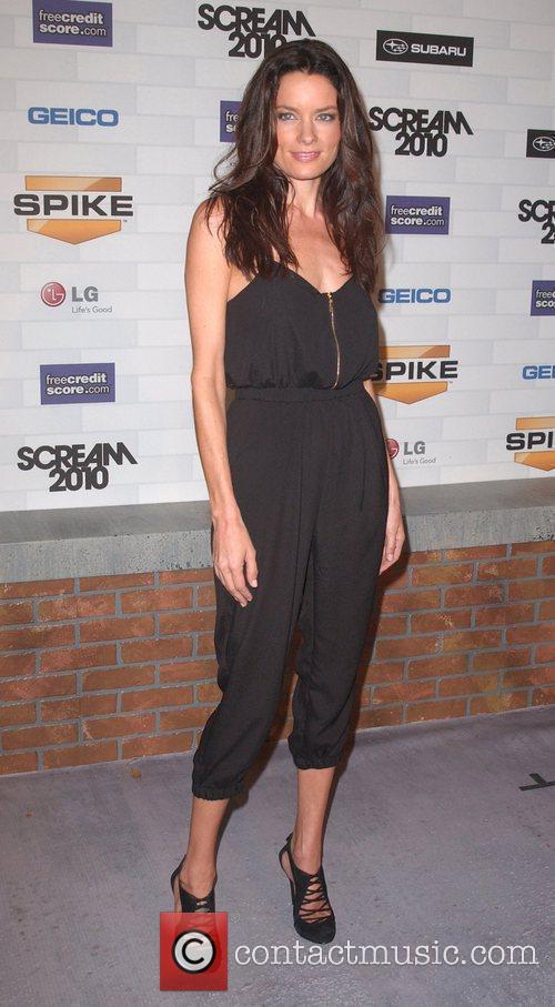 Gina Holden Spike TV's 'Scream 2010 Awards' at...