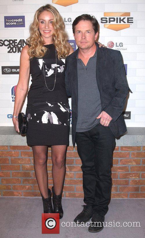 Tracy Pollan and Michael J. Fox Spike TV's...