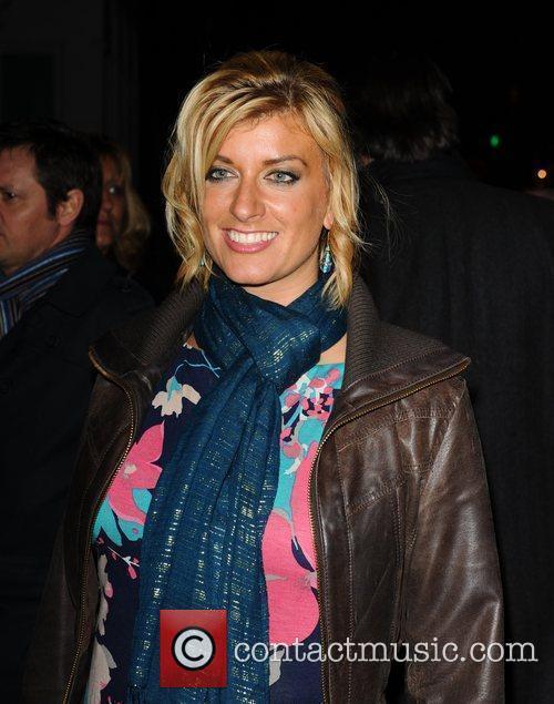 Caroline Feraday arriving at Scream London, England