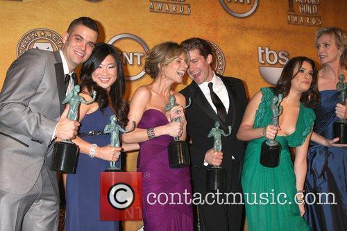 Mark Salling, Jenna Ushkowitz, Jessalyn Gilsig, Matthew Morrison and Lea Michele 5