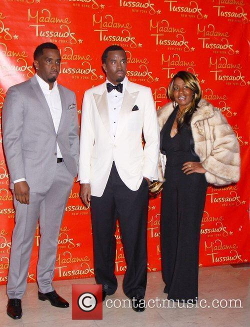 Sean Diddy Combs , his wax figure and...