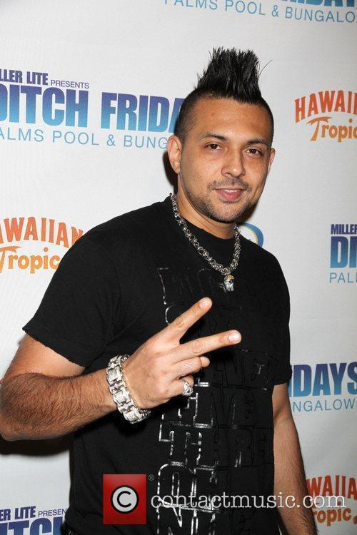 Sean Paul The 'Ditch Fridays' pool party held...