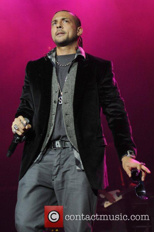 Sean Paul performs at Hard Rock Live at...