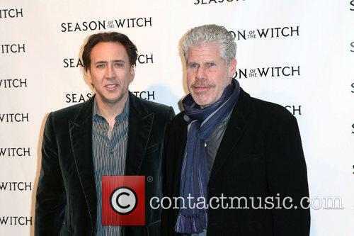 Nicolas Cage, Ron Perlman and The Witch 11
