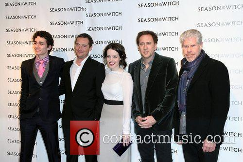 Robert Sheehan, Claire Foy, Nicolas Cage, Ron Perlman, Stephen Campbell Moore and The Witch 1