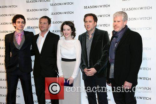 Robert Sheehan, Claire Foy, Nicolas Cage, Ron Perlman, Stephen Campbell Moore and The Witch 2
