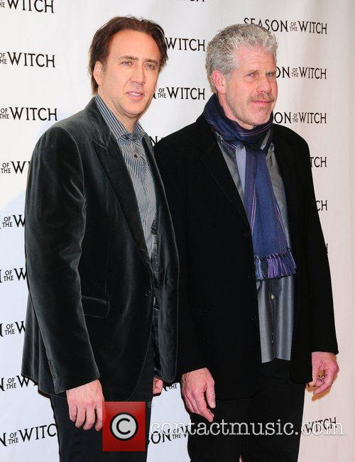Nicholas Cage, Ron Perlman and The Witch 6