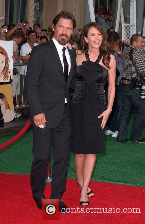Josh Brolin and Diane Lane Premiere of Walt...