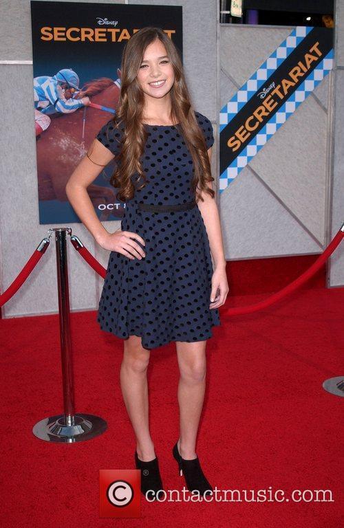 Hailee Steinfeld Premiere of Walt Disney Pictures' 'Secretariat'...