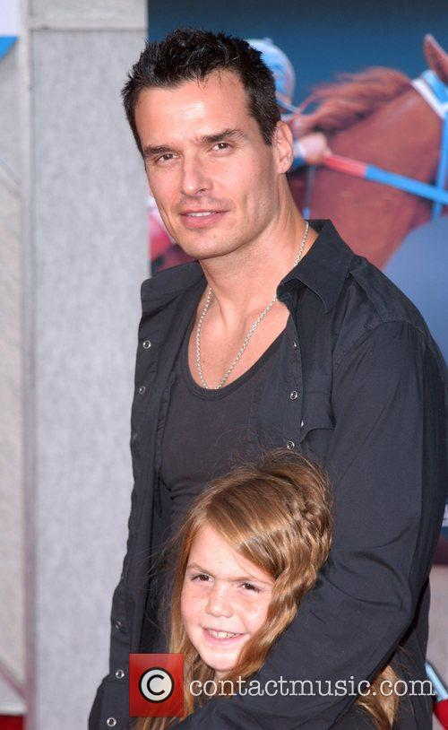 Antonio Sabato Jr. and daughter Mina Premiere of...
